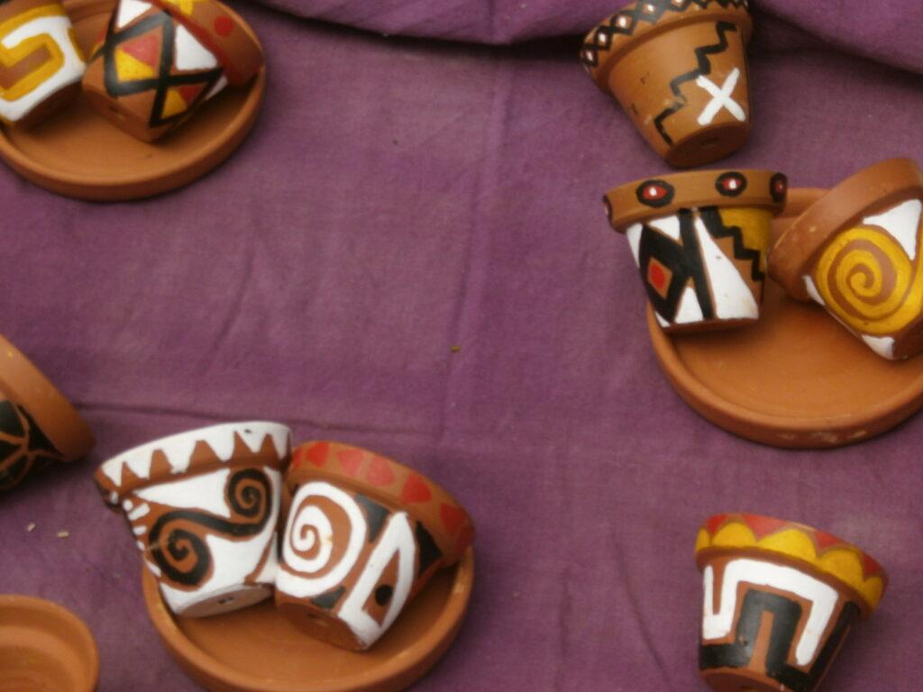 Nossa Feira Livre, personagens e suas trajetórias de vida: Artesanato Indígena