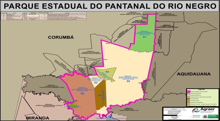 Governo MS avança para implantar o Parque Estadual do Pantanal do Rio Negro