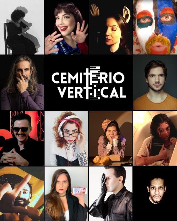 Encenação online: 'Cemitério Vertical' com Rebecca Loise entreia neste sábado