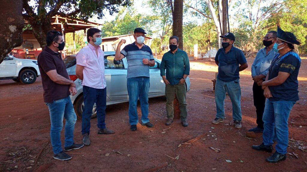 Em visita a Dourados, deputado Amarildo Cruz anuncia R$ 100 mil para a saúde e educação