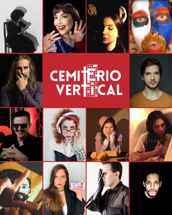 Hoje tem o experimento cênico online 'Cemitério Vertical', com Rebecca Loise